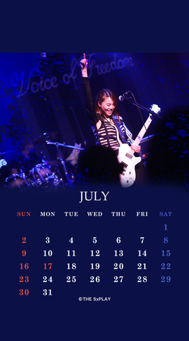 THE SxPLAY 7月