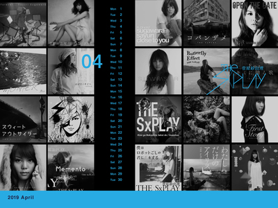 THE SxPLAY 4月